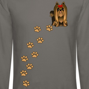 Yorkshire Terrier Puppy Dog T-Shirt - Crewneck Sweatshirt