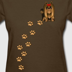 Yorkshire Terrier Puppy Dog T-Shirt - Women's T-Shirt