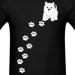 Westie Puppy Dog T-Shirt - Men's T-Shirt