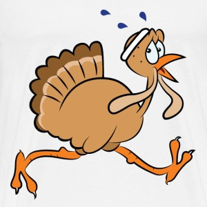 Turkey Run Running - Men's Premium T-Shirt