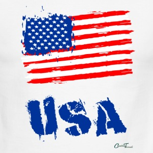 USA Flag T-Shirts - Men's Ringer T-Shirt