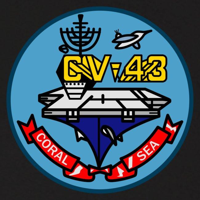 USS CORAL SEA 1987-88 CRUISE HOODIE