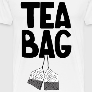 Tea Bag - Men's Premium T-Shirt