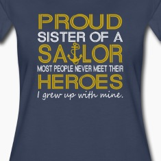 Proud sister of a sailor
