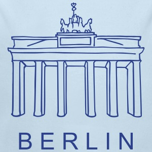 Brandenburg Gate Berlin Baby Bodysuits - Long Sleeve Baby Bodysuit
