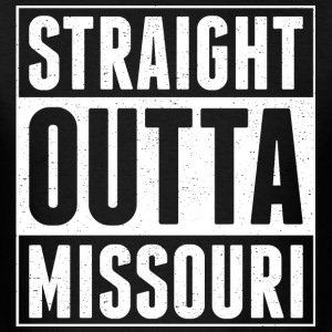 Straight Outta Missouri - Men's T-Shirt