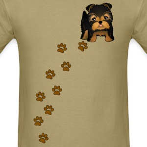 Yorkshire Terrier Puppy Dog T-Shirt - Men's T-Shirt