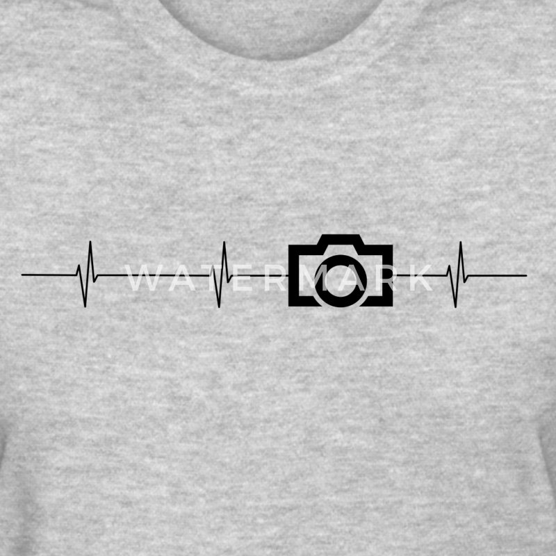 Camera Heartbeat Ladies T - Women's T-Shirt