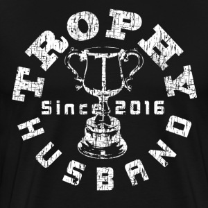 Trophy Husband Since 2016 Dark T-shirt - Men's Premium T-Shirt