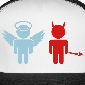 little angel, little devil Caps - Trucker Cap