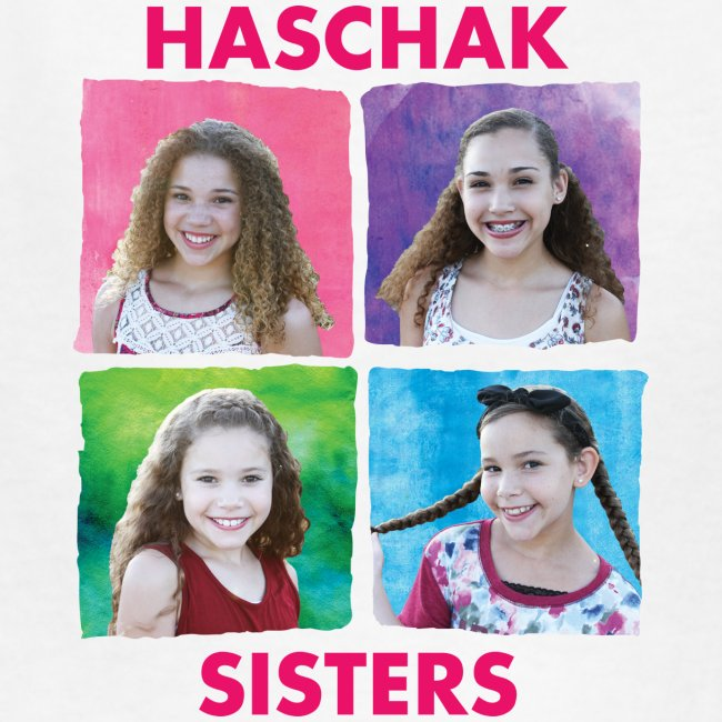 Haschak Sisters Shirt (White 2)
