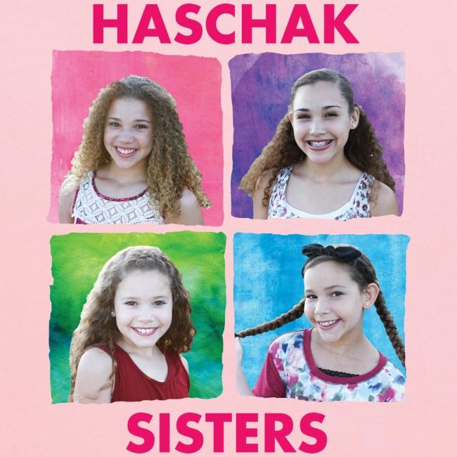 Haschak Sisters Hoodie (Pink 2)