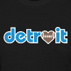 Detroit Football Love - Women's T-Shirt