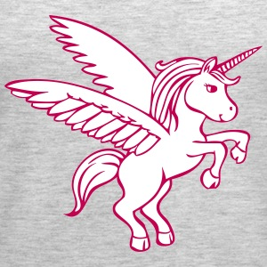 Unicorn Horse Tanks - Women's Premium Tank Top