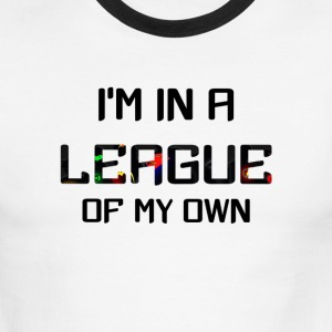 Im in a league of my own - Men's Ringer T-Shirt