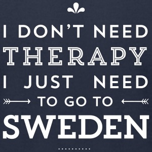 I just need to go to Sweden T-Shirts - Men's T-Shirt by American Apparel