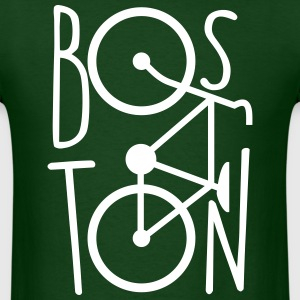 BOSTON BIKE BICYCLE MEN T-SHIRT - Men's T-Shirt