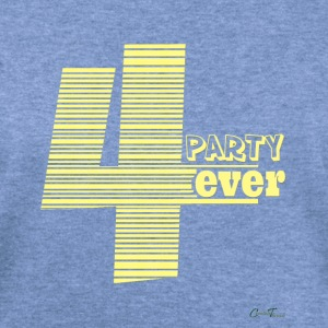Party4ever Long Sleeve Shirts - Women's Wideneck Sweatshirt