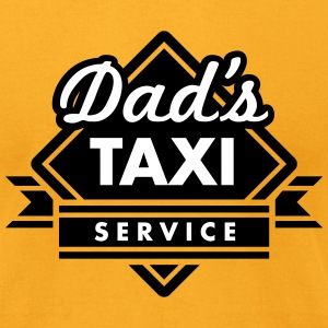 Dad's Taxi Service T-Shirts - Men's T-Shirt by American Apparel
