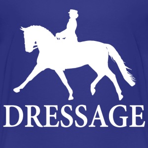 Dressage Horse - white Baby & Toddler Shirts - Toddler Premium T-Shirt