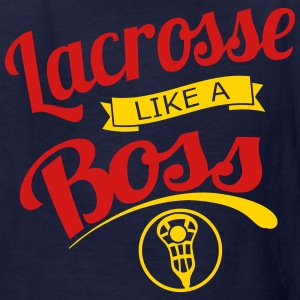 Lacrosse Like a Boss Kids' Shirts - Kids' T-Shirt
