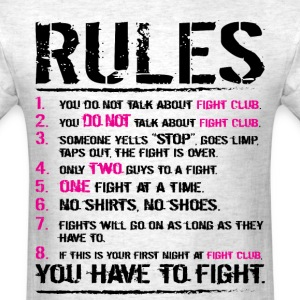 The Rules T-Shirts - Men's T-Shirt