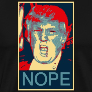 donald trump nhope - Men's Premium T-Shirt