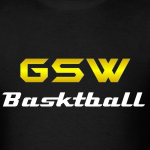 Golden State Warriors Black T - Men's T-Shirt