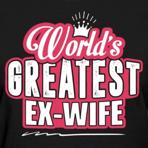 World's Greatest Ex-Wife Women's T-Shirts - Women's T-Shirt