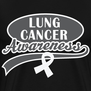 Lung Cancer Awareness Walk T-Shirts - Men's Premium T-Shirt