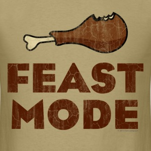 Feast Mode Funny Thanksgiving T-Shirts - Men's T-Shirt