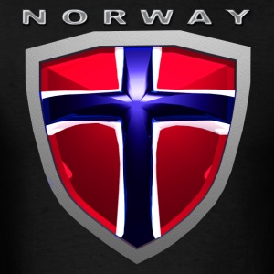 Norway Shield T-Shirts - Men's T-Shirt