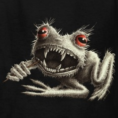 Werefrog Monster Frog Kids` T-Shirt
