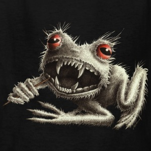 Werefrog Monster Frog Kids` T-Shirt - Kids' T-Shirt