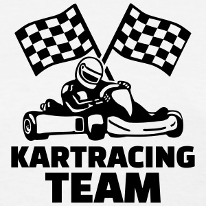 Kart Racing Team Women's T-Shirts - Women's T-Shirt