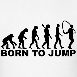 Evolution Born to Jump T-Shirts - Men's T-Shirt