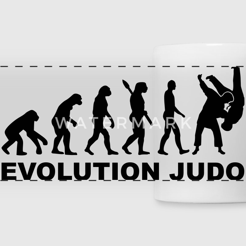 Evolution Judo Mugs & Drinkware - Panoramic Mug