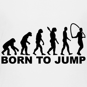 Evolution Born to Jump Kids' Shirts - Kids' Premium T-Shirt