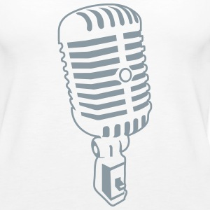 Microphone Tanks - Women's Premium Tank Top