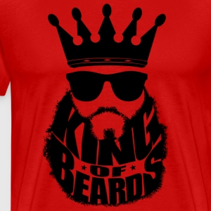 King Of Beards T-Shirts - Men's Premium T-Shirt