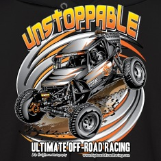 Ultra4 Buggy Unstoppable Hoodies