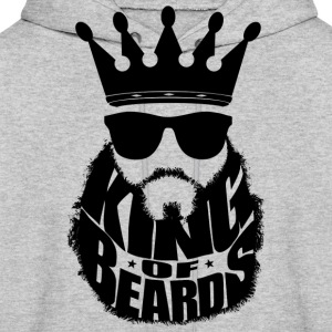 King Of Beards Hoodies - Men's Hoodie
