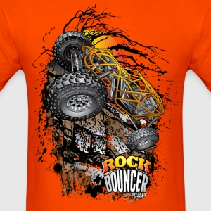 Rock Bouncer Sunset Org T-Shirts - Men's T-Shirt
