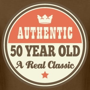 50th Birthday Vintage Crown Funny T-Shirts - Men's T-Shirt