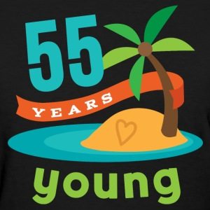 55th birthday 55 Years Young Hawaiian Women's T-Shirts - Women's T-Shirt
