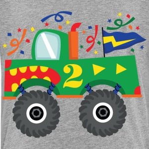 2nd Birthday Monster Truck Fun Baby & Toddler Shirts - Toddler Premium T-Shirt