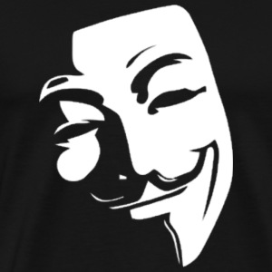 Anonymous, Guy Fawkes, Mask, V for Vendetta, Novem - Men's Premium T-Shirt