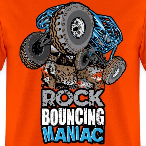 rock bouncing manic blue
