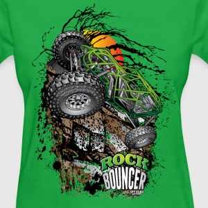 Rock Bouncer Sunset Grn Women's T-Shirts - Women's T-Shirt