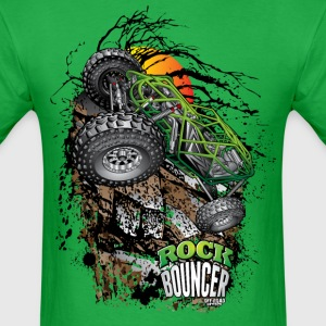 Rock Bouncer Sunset Grn T-Shirts - Men's T-Shirt